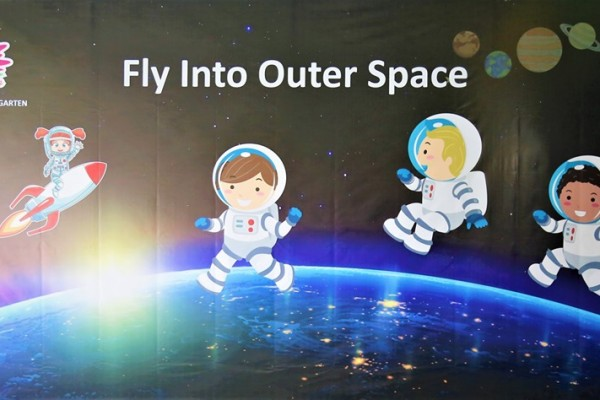 FLY INTO OUTER SPACE